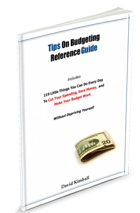 Free Tips on Budgeting eBook